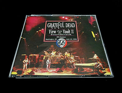 Grateful Dead View From The Vault II Soundtrack 2 Two RFK 6/14/1991 7/12/90 3 CD