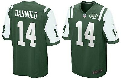 e5289201 Nike Men's Size XL New York Jets Sam Darnold #14 Home Game Jersey 468963 377