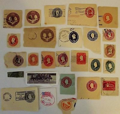 United States Small Lot Of 27 Old C/O