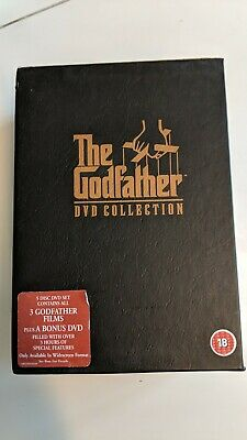 The Godfather Trilogy (DVD, 2001, 5-Disc Set, Box Set)