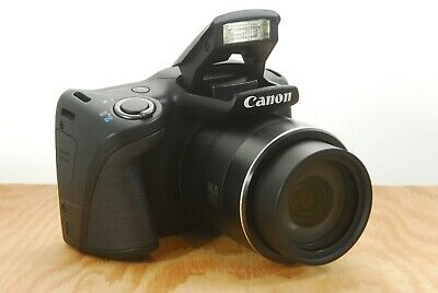 Canon PowerShot SX400 IS Digital Camera - 16MP, 30x Zoom, HD, Etc.