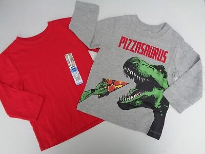 NEW Lot 2 Baby Gap & Garanimals Tee T-shirt Size 18-24 m 18 24 Dino Boys Toddler