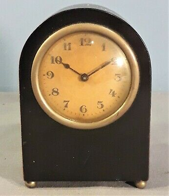 Vintage H.A.C. Small Desk Clock - Working order, 1930s