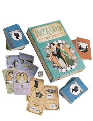 Victorian Trading Co Marrying Mr. Darcy Role Playing Pride & Prejudice Card Game