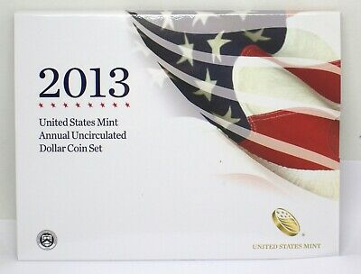 2013 Us Mint Annual Uncirculated Dollar Coin Set  #101272-11D