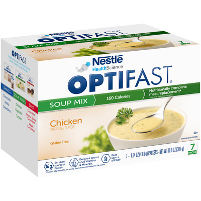 2-PACK | OPTIFAST® 800 MEAL REPLACEMENT SOUP | Chicken Soup | 2 BOXES