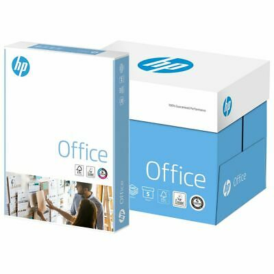 Hp Office A4 White Paper 80Gsm Printer Copier | 1 2 3 4 5 Reams Of 500 Sheet