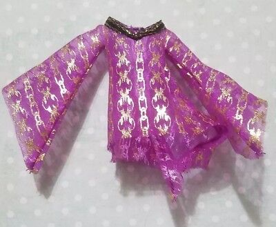 Monster High Doll Clothing 13 Wishes Spectra Vondergeist Purple Cover Up Dress