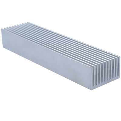 200*50*30mm Anodized Aluminium Heat Sink For Power Transistor/TO-126/TO-220/CPU
