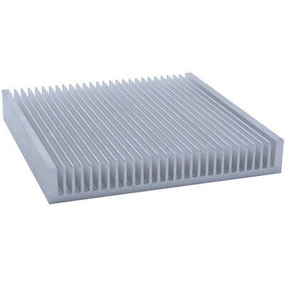 200*200*30mm Anodized Aluminium Heat Sink For CPU Power Transistor TO-126 TO-220