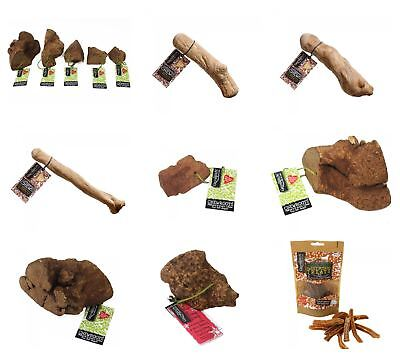 Vegetarian Dog Chews & Treats - Sweet Potato, Coffeewood, Chewroots, Olivewood