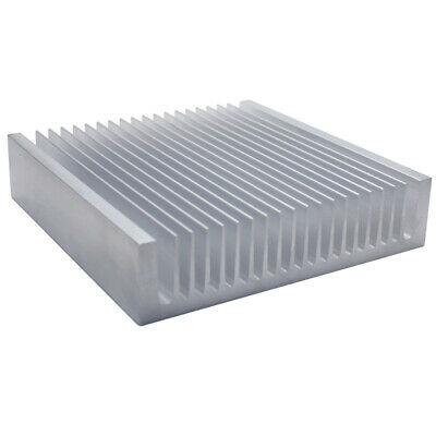 200*195*45mm Anodized Aluminium Heat Sink For CPU Power Transistor TO-126 TO-220