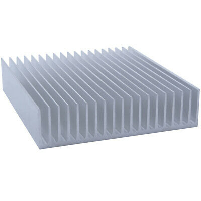 200*182*45mm Anodized Aluminium Heat Sink For CPU Power Transistor TO-126 TO-220