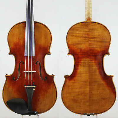 Oil Antique Vanish!A Strad Viola 16.5 inch Copy!  #5277 Deep warm tone!