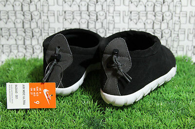 premium selection 44cea fe17d RARE Nike Moc Ultra Black White SUEDE 862440 200 acg lab qs prm r.t.MEN 9