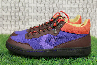a2aa7ded9727 RARE SOLD OUT Converse CLOT Fastbreak Mid purple brown off white 160284C  MEN 9.5