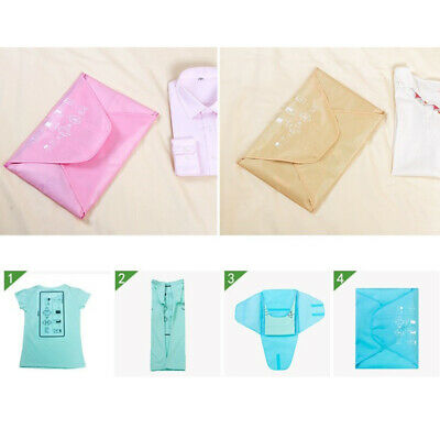 Portable Garment Bag Anti-wrinkle Cloth Contianer Cloth Packing Bag for Travel