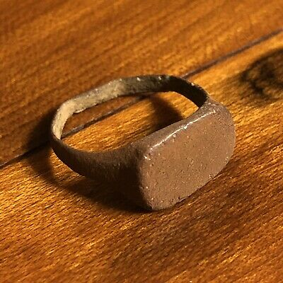 Rare Ancient Medieval Wedding Ring Roman Byzantine European Jewelry Artifact A