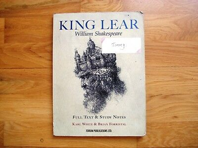 KING LEAR william shakespeare Forum Publications with notes vgc full text