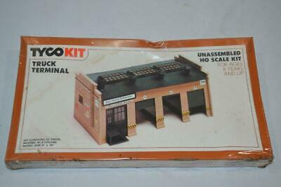 Vintage TYCO HO Scale Model Railroad Truck Terminal Building Kit #7758   SEALED