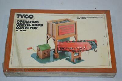 Vintage TYCO HO Scale Model Railroad Operating Gravel Dump Conveyor #922 SEALED
