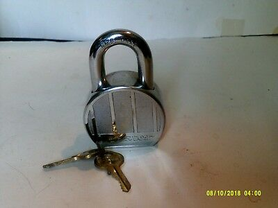 "MASTER LOCK #230 WITH 2 KEYS 3 1/2"" Tall"