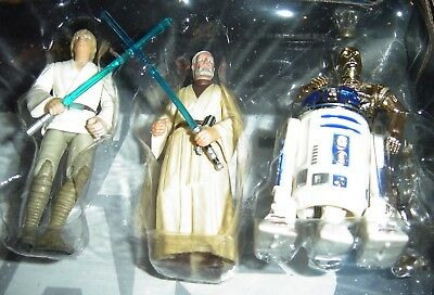 Star Wars Trilogy Dvd Collection A New Hope Figures Loose 2004