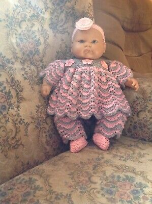 Large dolls knitted clothes
