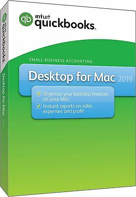 QuickBooks Desktop For Mac 2019 [Mac Disc]