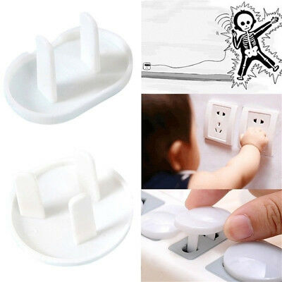 20pcs Electric Power Socket Outlet Protective Kids Safety Cover Guard f. Nursery