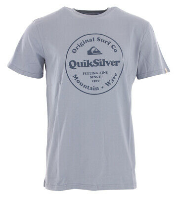 Shirt Tshirt Oberteil QUIKSILVER SECRET INGREDIENT T-Shirt 2019 stone wash