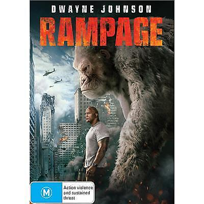 Rampage DVD 2018 M / Free Priority Postage - Receive within 3 days!