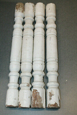 Antique Victorian Wood Architectural Balcony Stair Rail Porch Baluster Spindle #