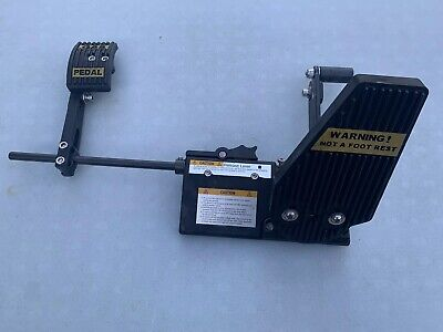 Motion Mobility Left Foot Accelerator Gas Pedal Handicap Device Driving Aid Read