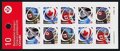 Canada 2423a Booklet BK439 MNH Canadian Pride, Helicopter