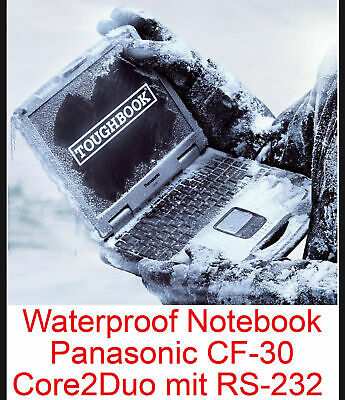 Extreme Resistentes Notebook Panasonic Cf30 Notebook&wlan&touchscreen With