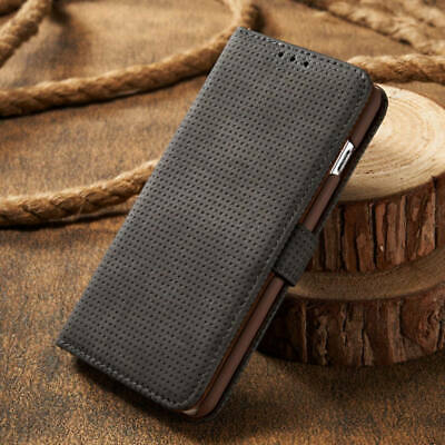 Retro Magnetic Flip Leather Wallet Card Case Stand Cover For iPhone XS Max 6/7/8