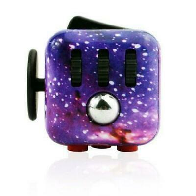 new Sky Fidget Cube Anxiety Stress Relief Focus Gift Adults Attention Therapy