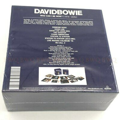 David Bowie Who Can I Be Now CD 1974-1976 Sealed 12CD Factory New Sealed Version