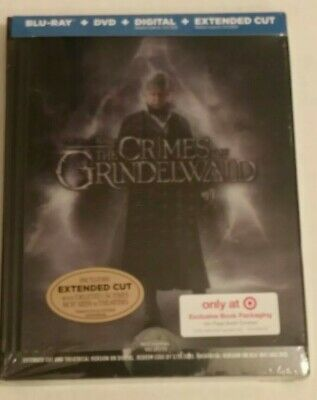 New! The Crimes Of Grindelwald (Target Exclusive BluRay /DVD /Digital) sealed