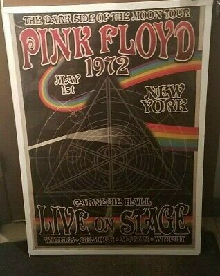 PINK FLOYD POSTER New 1979 Rare Vintage Collectible Oop Live