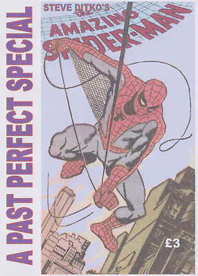 PAST PERFECT SPECIAL STEVE DITKO's THE AMAZING SPIDER-MAN 100 pgs Stan Lee