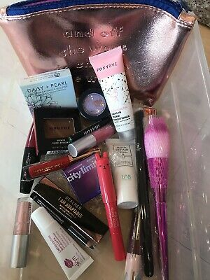 NEW Unopened Ipsy Sephora Sample Lot OF 5  IPSY BAG MORPHE LORD AND BERRY SKYN