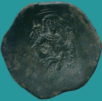 LATIN RULERS of CONSTANTINOPLE Æ Trachy 1204-1261 3.03 g/24.14 mm ANC13644.16