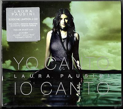LAURA PAUSINI BOX cofanetto 2 CD IO CANTO / YO CANTO SIGILLATO made in EU sealed