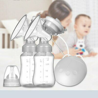 Automatic Double Intelligent Electric Handfree Breast Pump Baby Feeder USB Ak