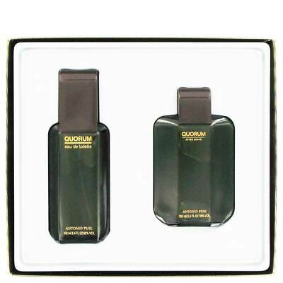 Quorum eau de toilette + aftershave locion