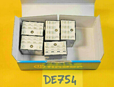 lot de 5 x relais FINDER 56.34.9.024.0040 commande 24v DC ( DE754 )