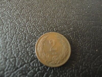 1901 Hungry 2 Filler Coin
