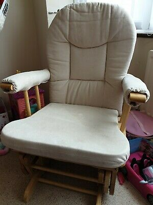 Natural Nursing Glider Maternity Chair